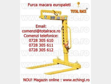 Dispozitiv ridicare cu furci pentru macara stoc Bucuresti - 5