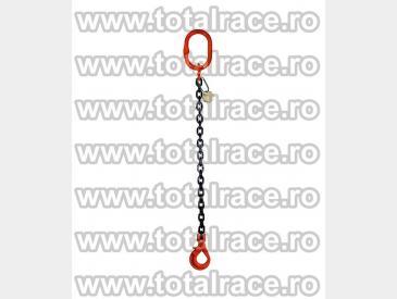 Dispozitive de ridicare din lant cu un brat si carlig rotativ cu siguranta - 2