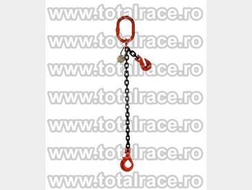Dispozitive de ridicare din lant cu un brat si carlig rotativ cu siguranta - 4