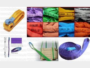 Chingi de ridcare cu urechi, chingi textile circulare - 5