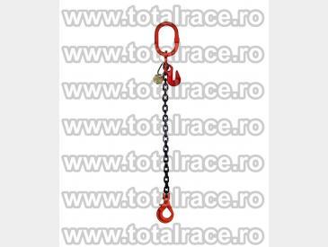 Dispozitive de ridicare din lant cu un brat si carlig rotativ cu siguranta - 3