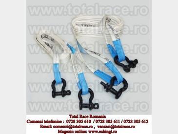Chingi, sufe tractare textile  / remorcare autovehicule  - 3